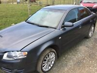 Audi A4 1.9 Tdi 2007 for parts!