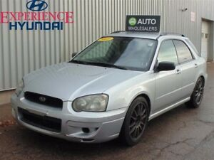 2005 Subaru Impreza 2.5 RS THIS WHOLESALE CAR WILL BE SOLD AS-TR