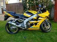 Zx6r really low miles *bargain*