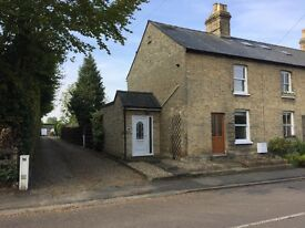 TO LET - Bottisham high street 3 bed end of terrace