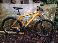 Marin Nail Trail orange adult mountain bike