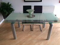 Beautiful Glass Dining Table