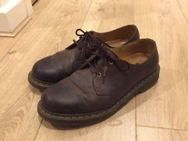 Dr Martens 1461 Mens Shoes Soft leather brown