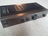JVC AX-A3 Stereo Integrated Amplifier 35 Watts Per Channel - Titanium Finish Excellent Condition