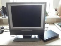 15 inch tv with dvd player