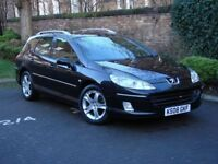 AA WARRANTY! 2008 PEUGEOT 407 SW 2.0 HDi SE 5dr AUTO, PANORAMIC ROOF, 1 YEAR MOT, FINANCE AVAILABLE