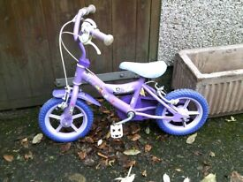 Childs Cycle , Suit 3 to 4 year old girl .