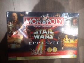 Monopoly Star Wars Episode 1 Collectors Edition