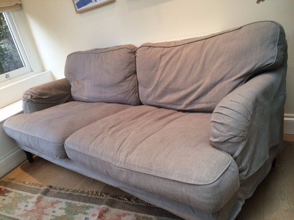 Ikea 39 stocksund 39 sofa in earls court london gumtree for Ikea gray sofa