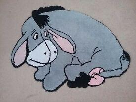 Winnie the Pooh Eeyore Rug for Nursery