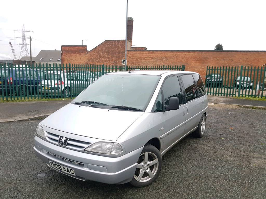 PEUGEOT 806 2.0ltr HDI (DIESEL) *** 7 SEATER- HPI CLEAR