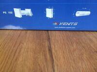 Passive Ventilation Grilles - Wall Vent - Trickle Vent