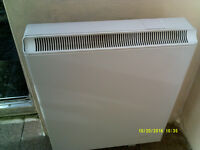 2 X MODERN ELECTRIC STORAGE HEATERS -1.7 Kw-in A1 CONDITION-FULLY WORKING £49