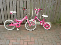 Children Bicycles two bikes must go I need the space Hence £12 for both job lot