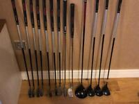 Dunlop right-handed golf clubs