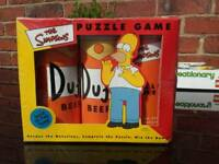 Retro Simpson's puzzle game