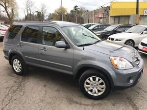 2006 Honda CR-V EX-L/AWD/LEATHER/ROOF/LOADED/ALLOYS