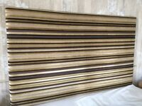 Luxury fabric headboard for double bed