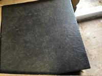300x300mm slate colour floor tiles