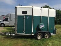 Ifor Williams HB510 two horse trailer