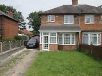 TWO BEDROOM HOUSE TO RENT ** IDEAL FOR A FAMILY ** LEYSDOWN GROVE ** ACOCKS GREEN **CALL NOW TO VIEW