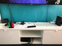 Ikea tv unit and desk