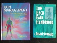 Health Books, Physiotherapy, Back Pain