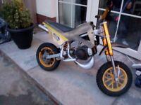 110 cc mini dirt bike