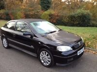 VAUXHALL ASTRA 1.6 SXI 2002 LONG MOT AND DRIVES WELL -ALLOY WHEELS AIR CON