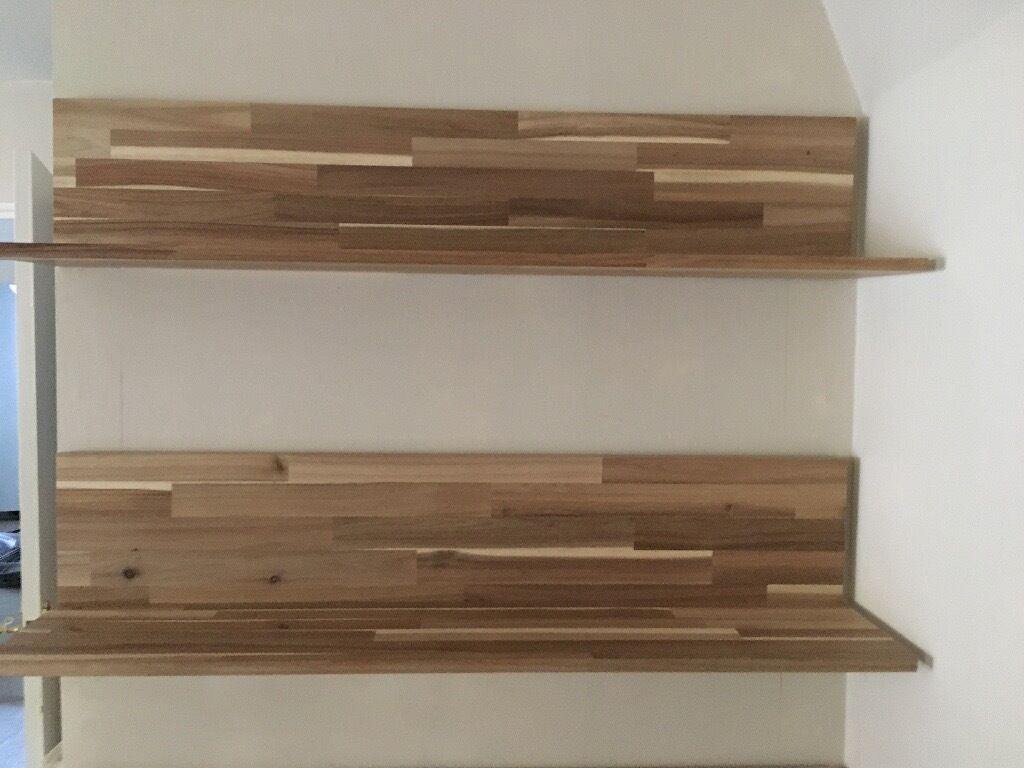 Ikea Skogsta Acacia Floating Shelves In Cupar Fife
