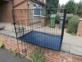 brand new X LARGE 2 door dog cage