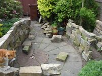 Stone wall (dismantled)