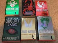 6 Anthony Horowitz Alex Rider series books