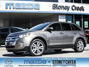 2014 Ford Edge SEL NAV,ECOBOOST, PANROOF, LOW KMS,ACCID FREE!