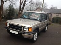 HI SPEC 2001/ 51 REG DISCOVERY TD5 GS 7 SEATER / HI SPEC /LOW MILES FOR YR/IDEAL SIZE /LIKE SHOWGUN