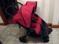 Britax B Agile Double Stroller / Buggy / Pushchair