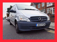 9 Seater --- 2013 Mercedes-Benz Vito 2.1 113CDI BlueEFFICIENCY Traveliner Compact Bus 5dr (9 Seats)