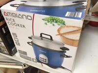 Ambiano rice cooker in working order like new