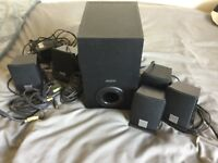 Creative 5.1 surround sound system