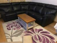 Sofa, Corner Group REAL LEATHER