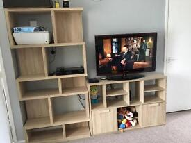 Display and to cabinet
