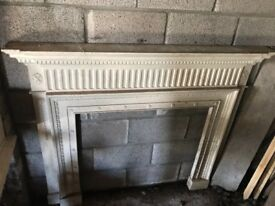 Victorian fireplace surround. It is an Adams fireplace that is from the 1970's.