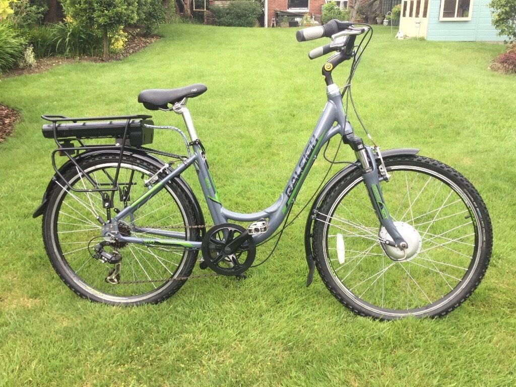raleigh velo xc electric step through bike in weymouth. Black Bedroom Furniture Sets. Home Design Ideas