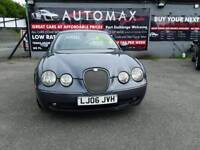 06 S/TYPE JAGUAR SPORT 2.7 ( DIESEL) WITH FSH