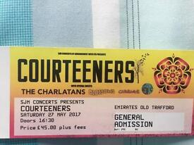 2 x Courteeners tickets old Trafford