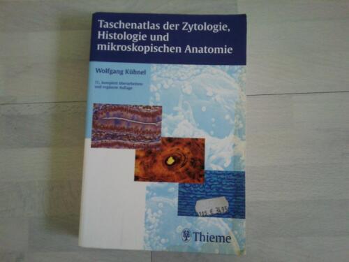 Taschenatlas zytologie histologie mikroskop. anatomie v. kühnel in