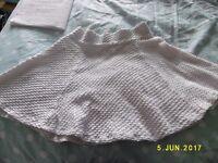 H & M white skirt.
