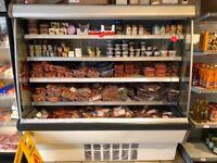 Commercial display multi deck fridge