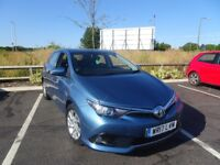 2017 17 Toyota Auris 1.2 T Icon Petrol 5dr Hatchback One Owner 114BHP SAT NAV yaris aygo ford ..