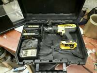 Dewalt 18v drill charger and batteries